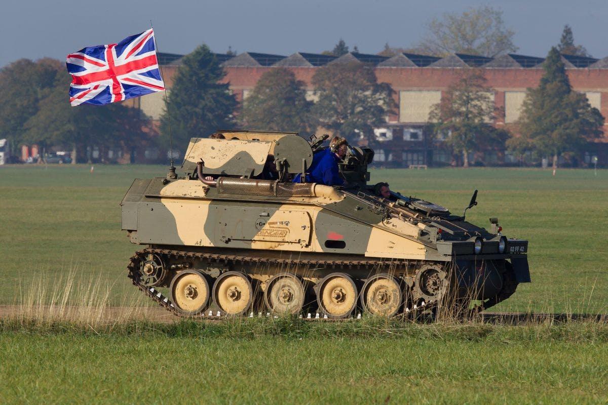 Alvis CVRT Spartan Tank Driving Experience