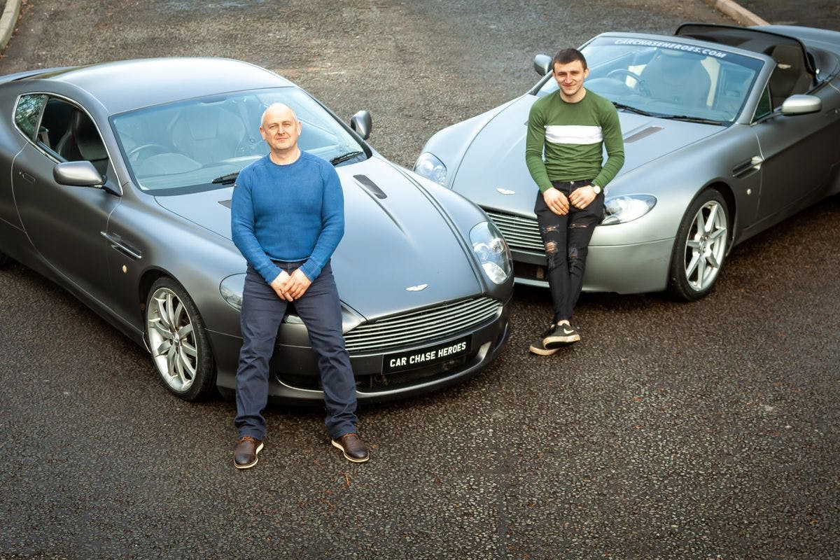 Aston Martin Double Driving Experience for Two
