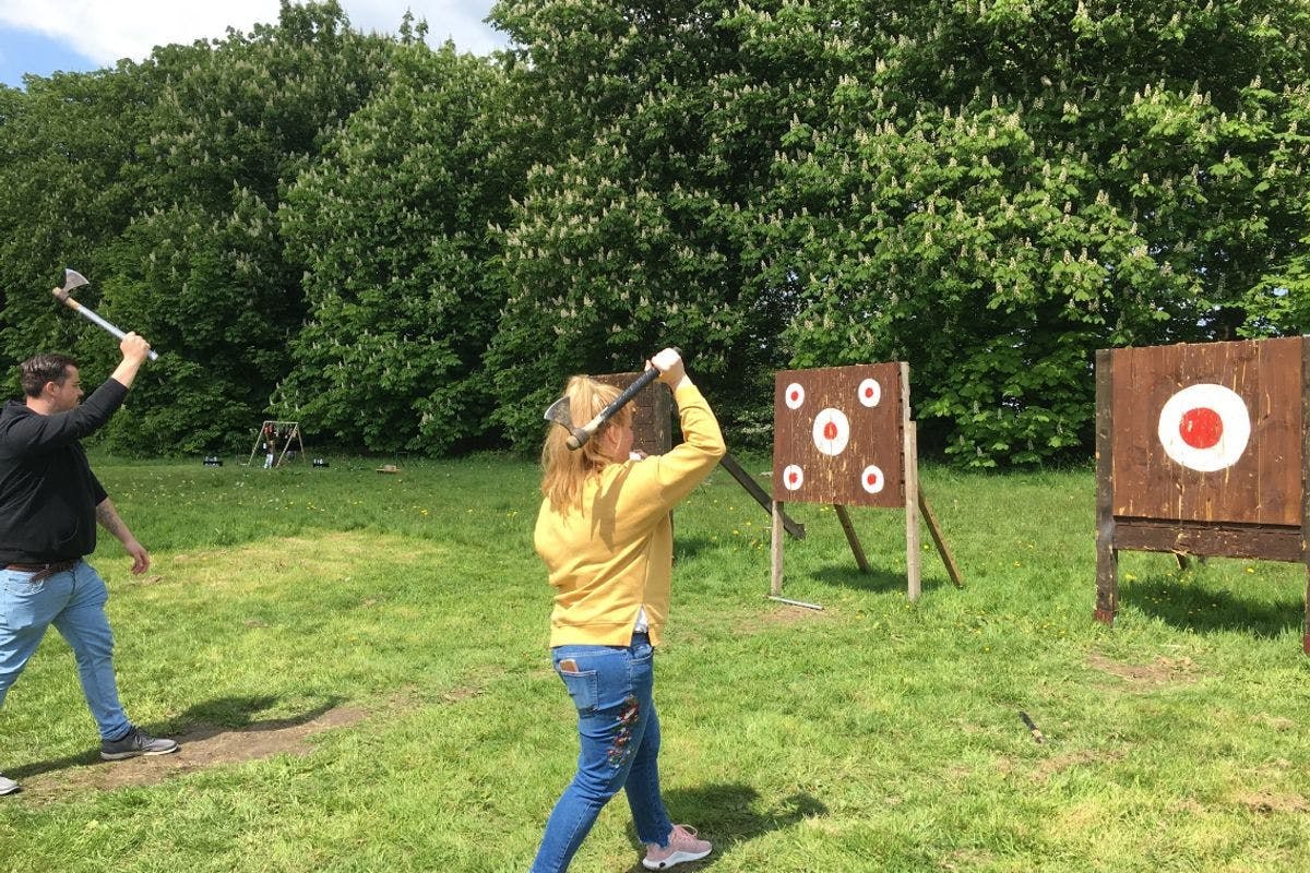 Axe and Knife Throwing for Two