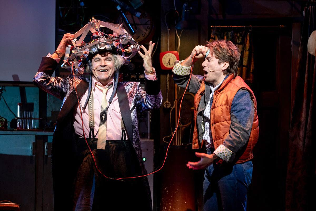 Back to The Future The Musical with Meal and Overnight Stay at the Hoxton Hotel or Two