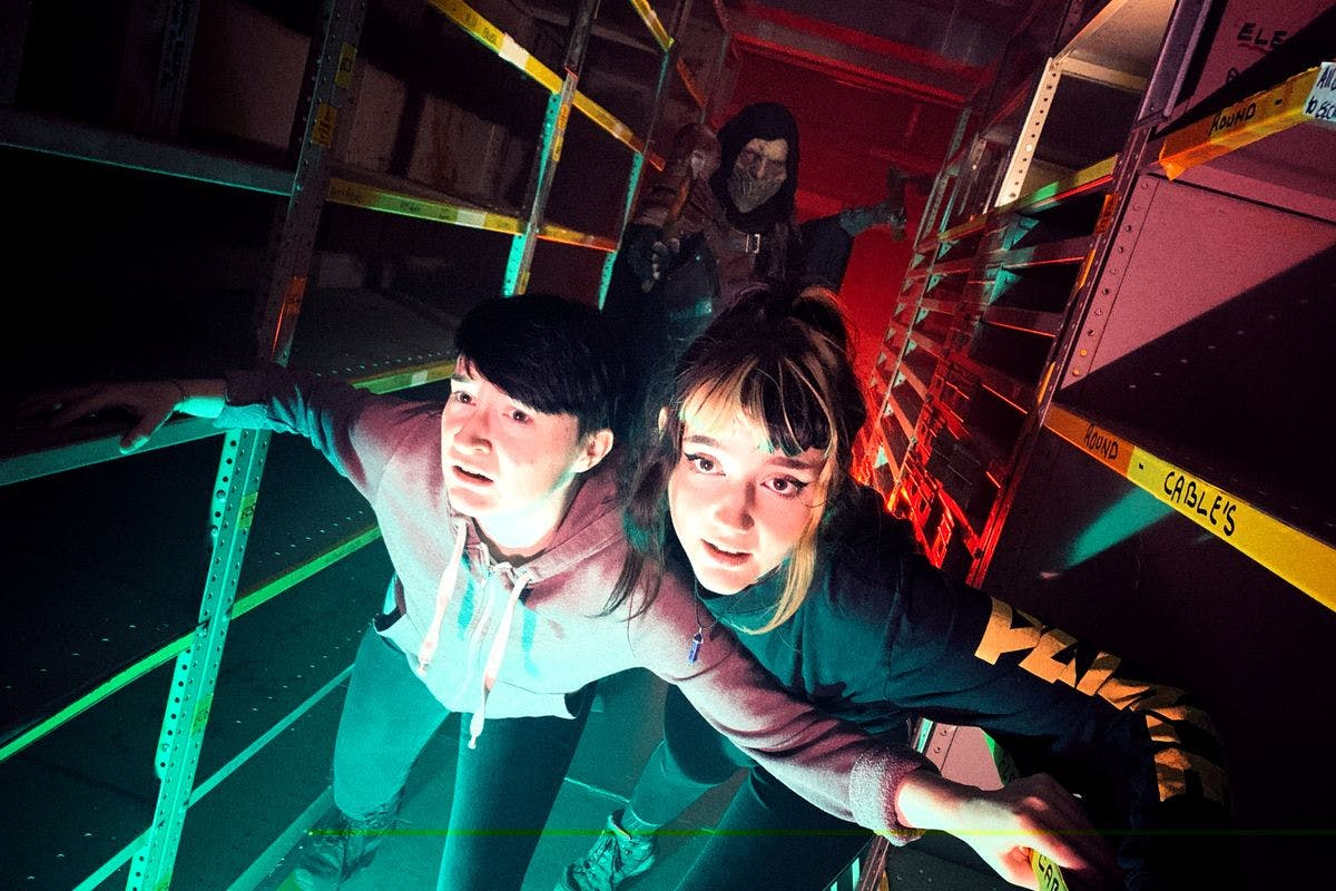 Be Hunted in the Turf Wars Immersive Escape Experience for Two