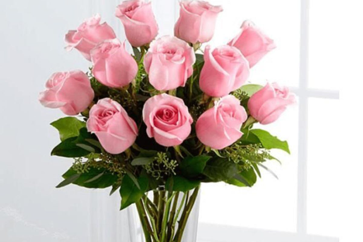 Beautiful Hand Tied Bouquet of Roses with a Personalised Message