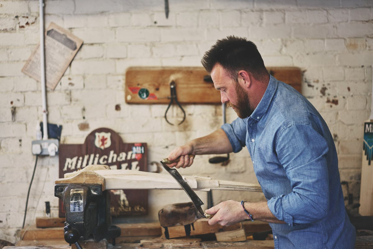 Bespoke Cricket Bat Experience at Millichamp & Hall