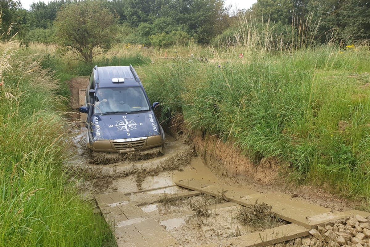 Best of Both Rally and 4x4 Driving at Silverstone Rally School