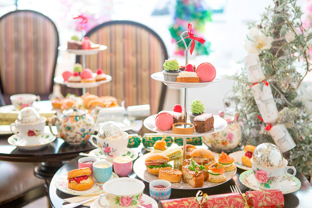 Bottomless Prosecco Afternoon Tea for Two at Brigit's Bakery Covent Garden