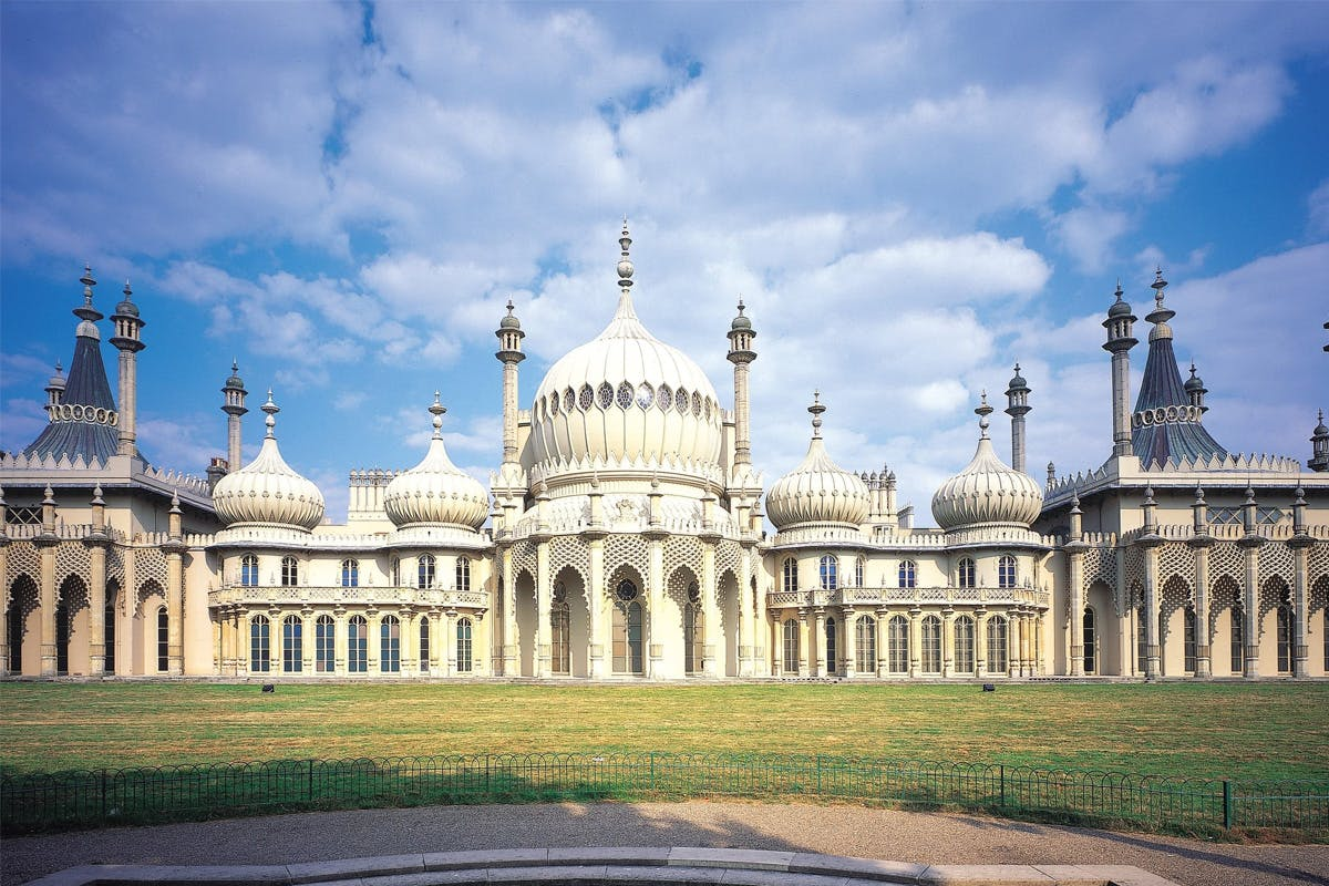 British Airways i360, Visit to Brighton Pavilion and Afternoon Tea at the Hilton Brighton Metropole for Two
