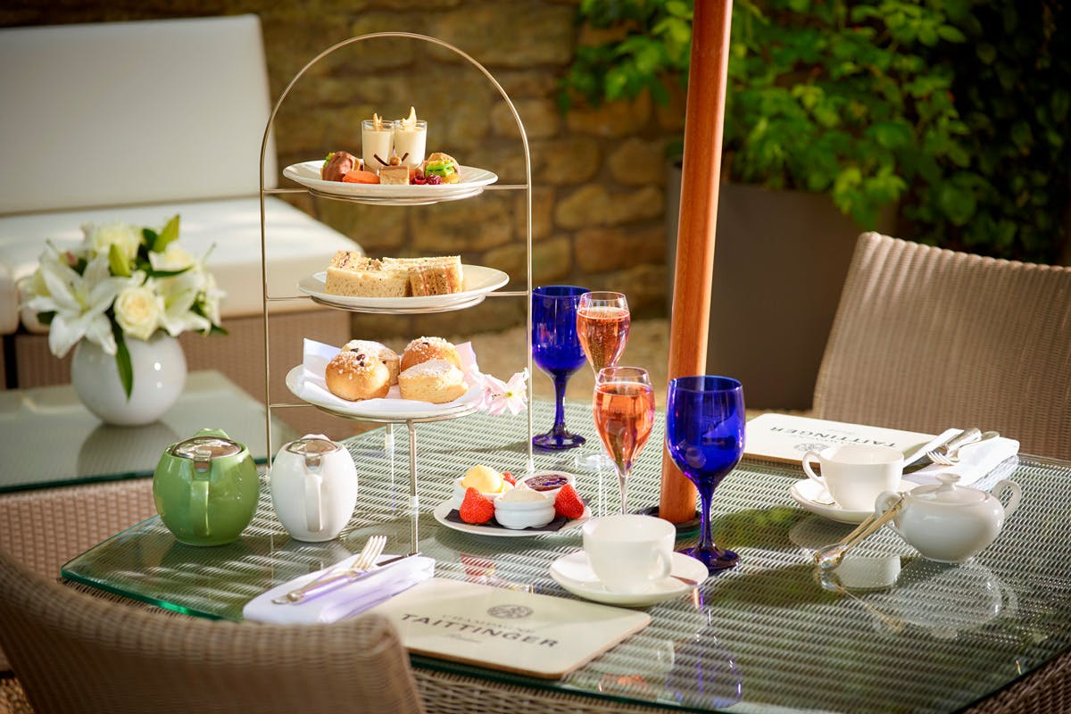 Champagne Afternoon Tea for Two at The Royal Crescent Hotel & Spa, Bath