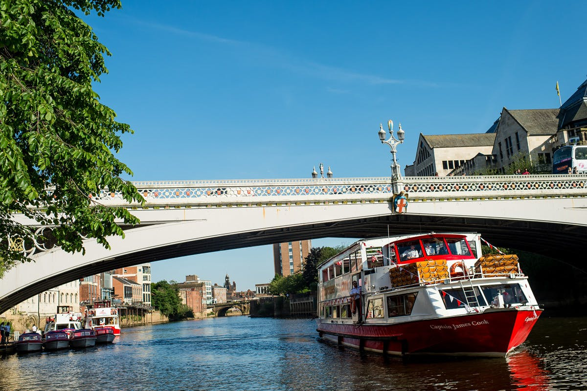 City of York Afternoon Tea River Cruise for Two