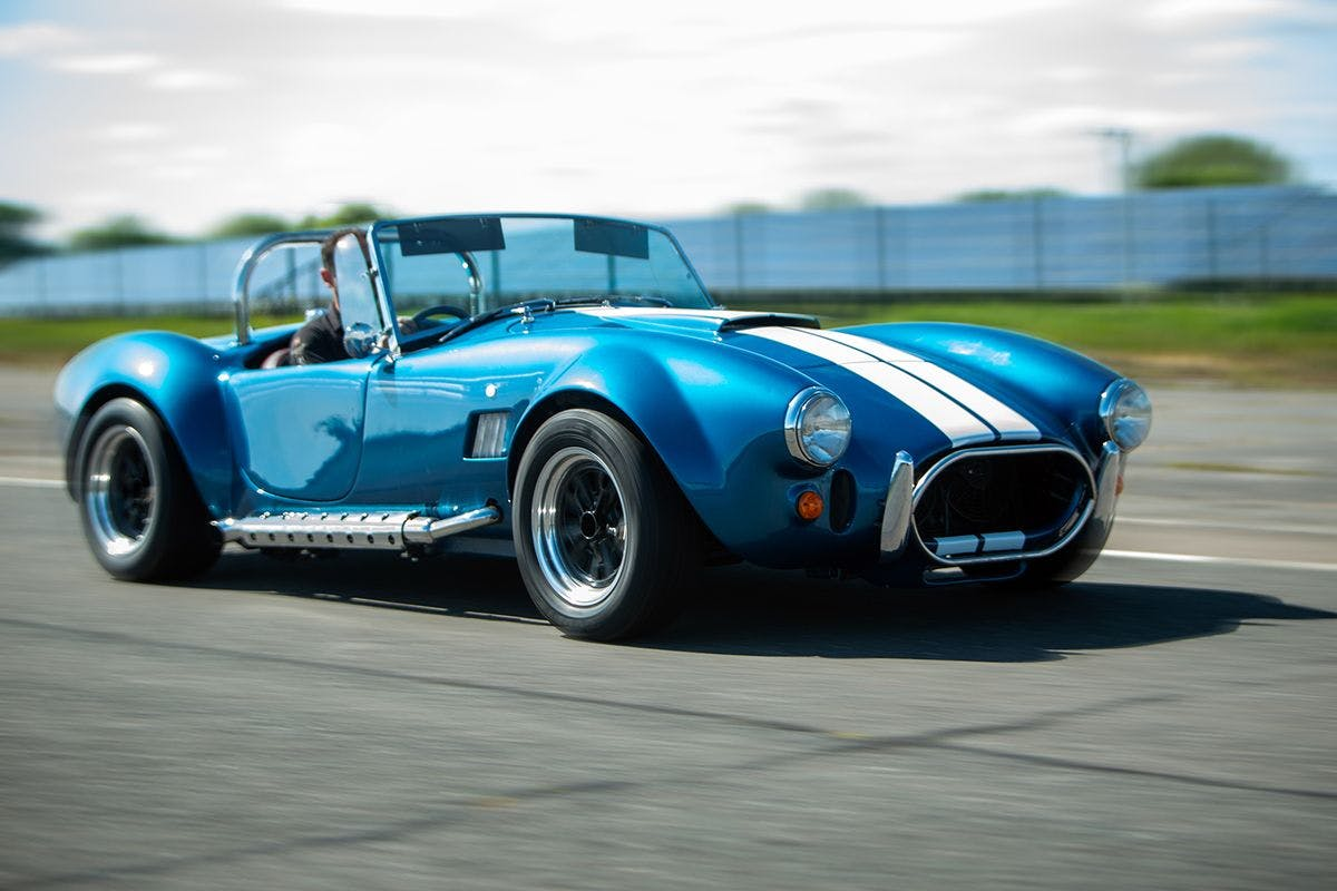Classic Car Driving Experience with High Speed Passenger Ride at the Historic Goodwood Motor Circuit