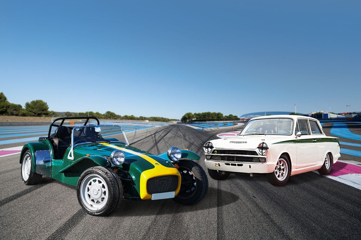 Classic Lotus Double Driving Experience