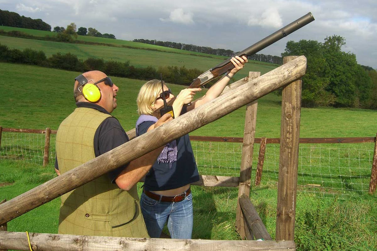 Clay Shooting Experience with Seasonal Refreshments