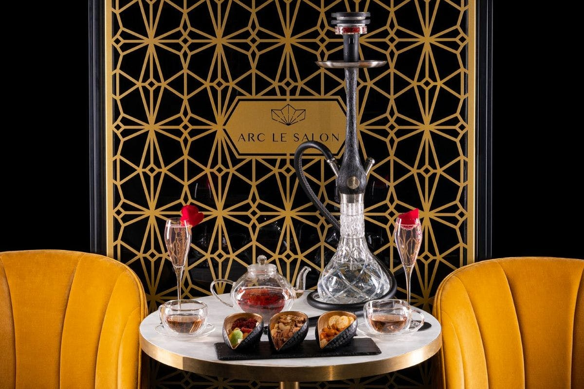 Cocktail and Shisha for Two at Arc Le Salon, Mayfair