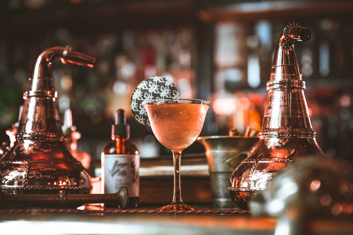 Cocktail Masterclass and Afternoon Tea or Two Course Meal for Two at MAP Maison