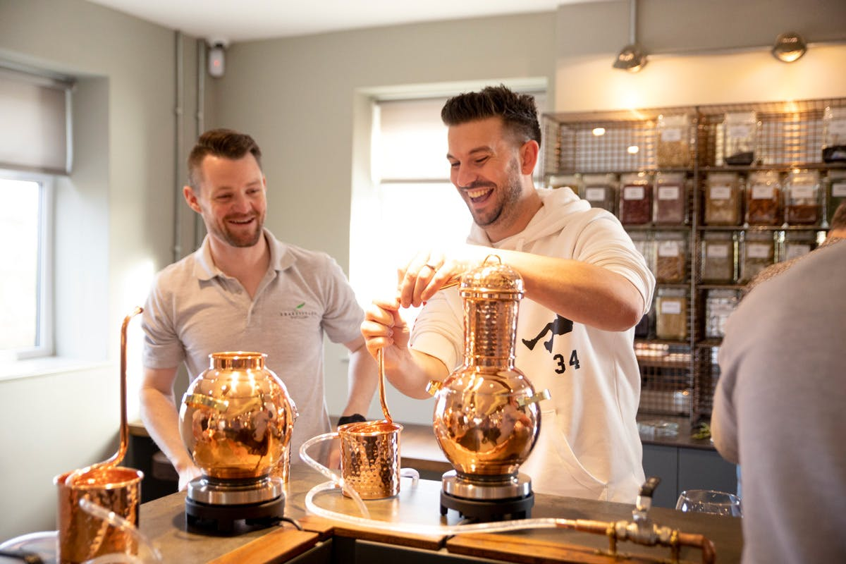 Create your Own Gin at the Shakespeare Distillery Gin School with Tour and Tastings for Two
