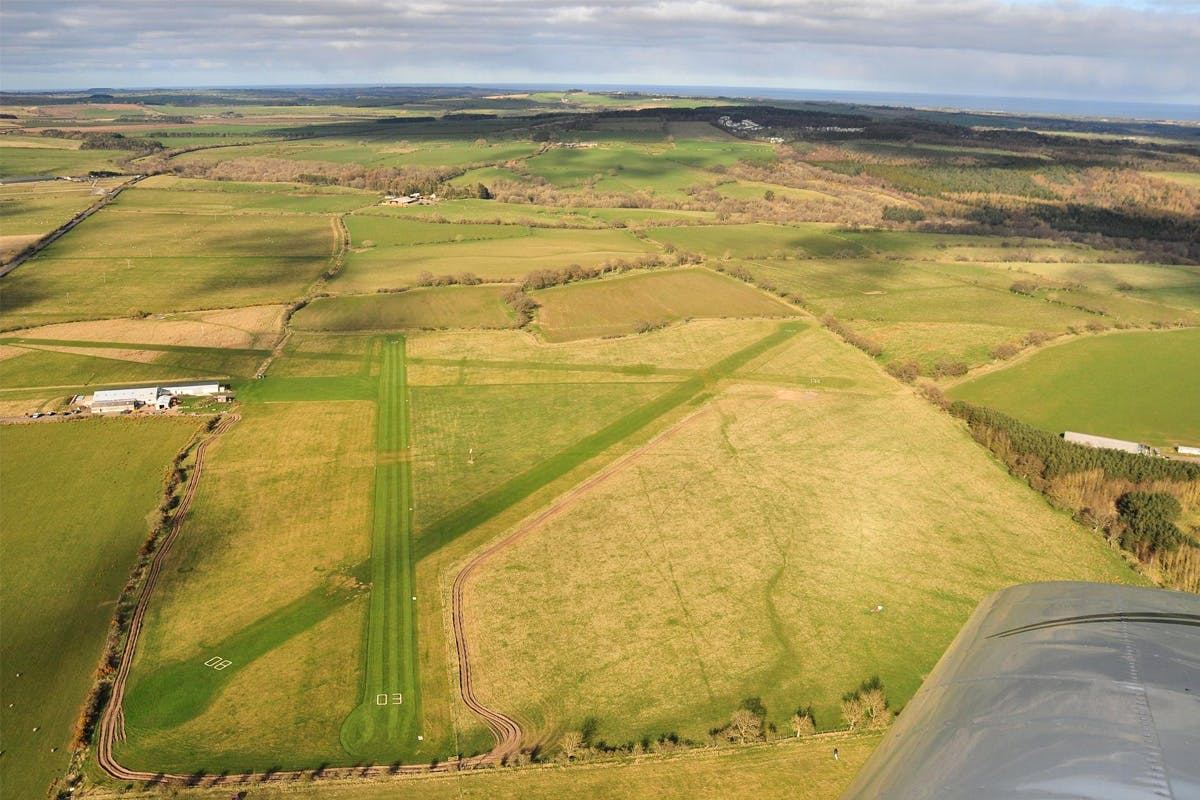 Cross Country Sightseeing Flight of Hadrian's Wall and the Lake District