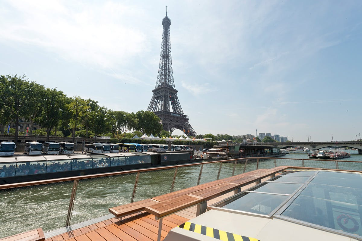 Day Trip to Paris by Eurostar and Three Course Lunch Cruise On-board Bateaux Parisien for Two
