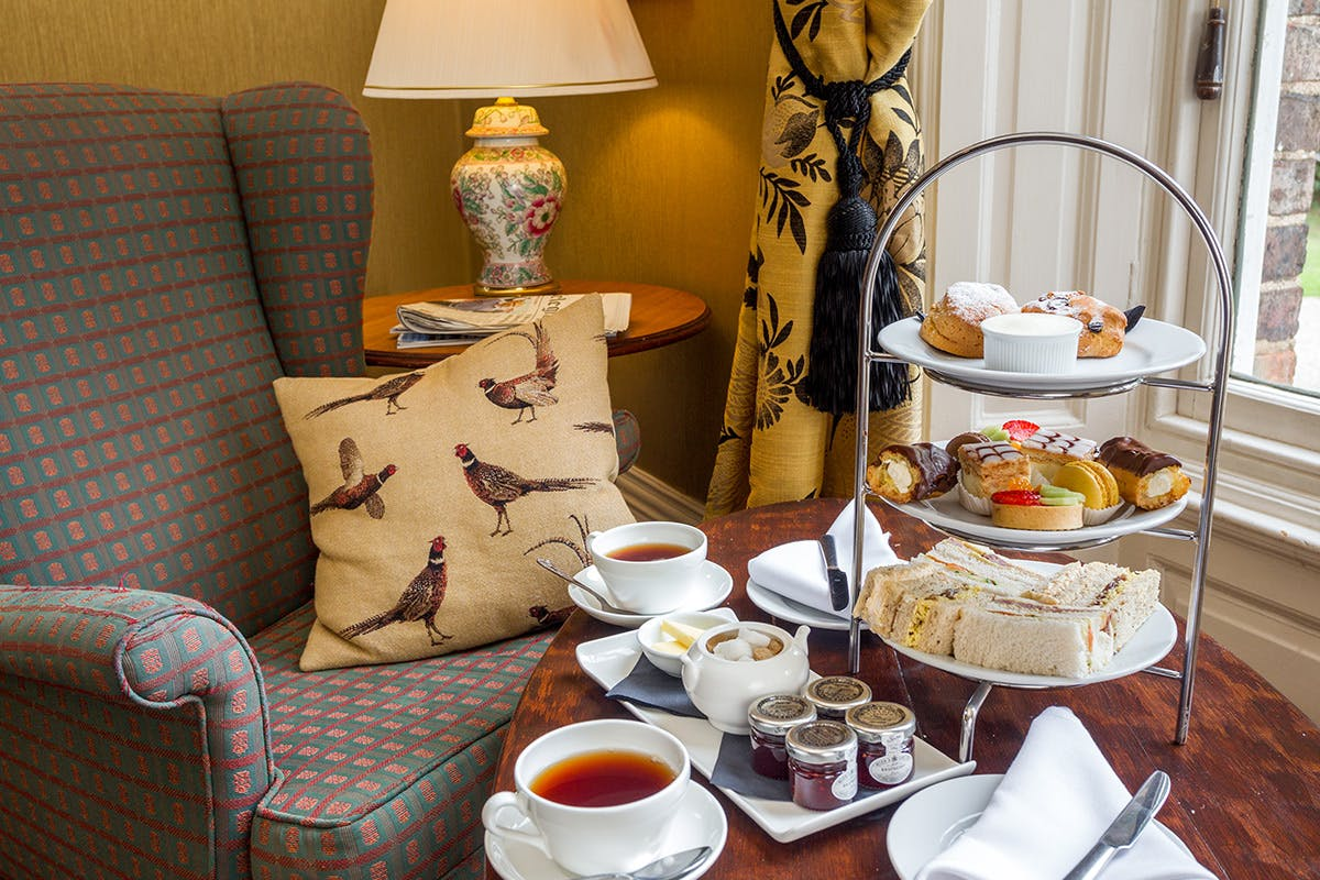 Deluxe Afternoon Tea for Two at Solberge Hall Hotel