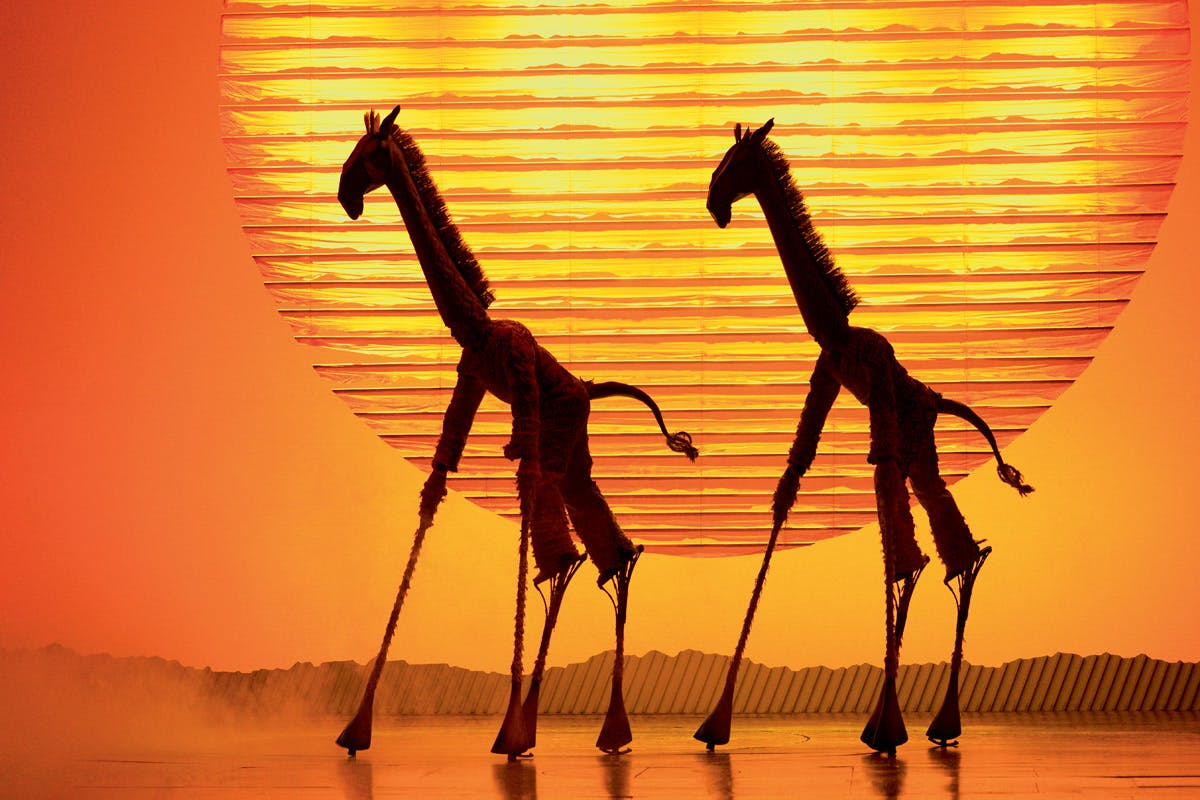 Disney's The Lion King Theatre Tickets with Pizza and Overnight Stay at the Hoxton Hotel for Two