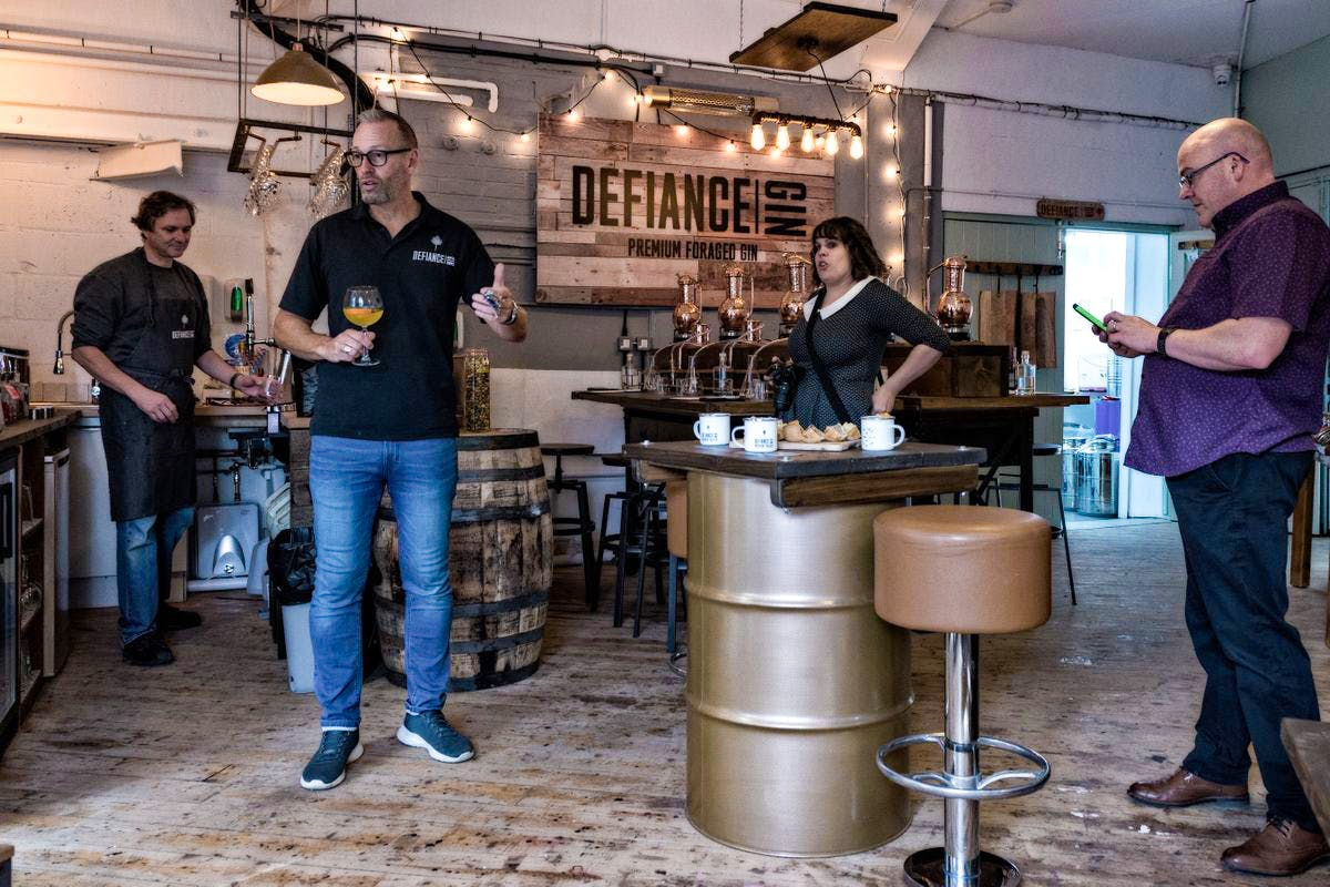 Distill Your Own Gin with G&T's and a Mezze Board for Two at Defiance Gin Academy