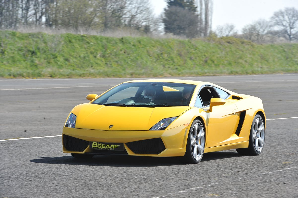 Double Supercar Blast with Demo Lap, Photo and Breakfast at Stafford Driving Centre