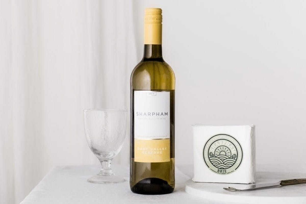 Enjoy a Wine and Cheese Pairing at Home for Two from Sharpham Vineyard