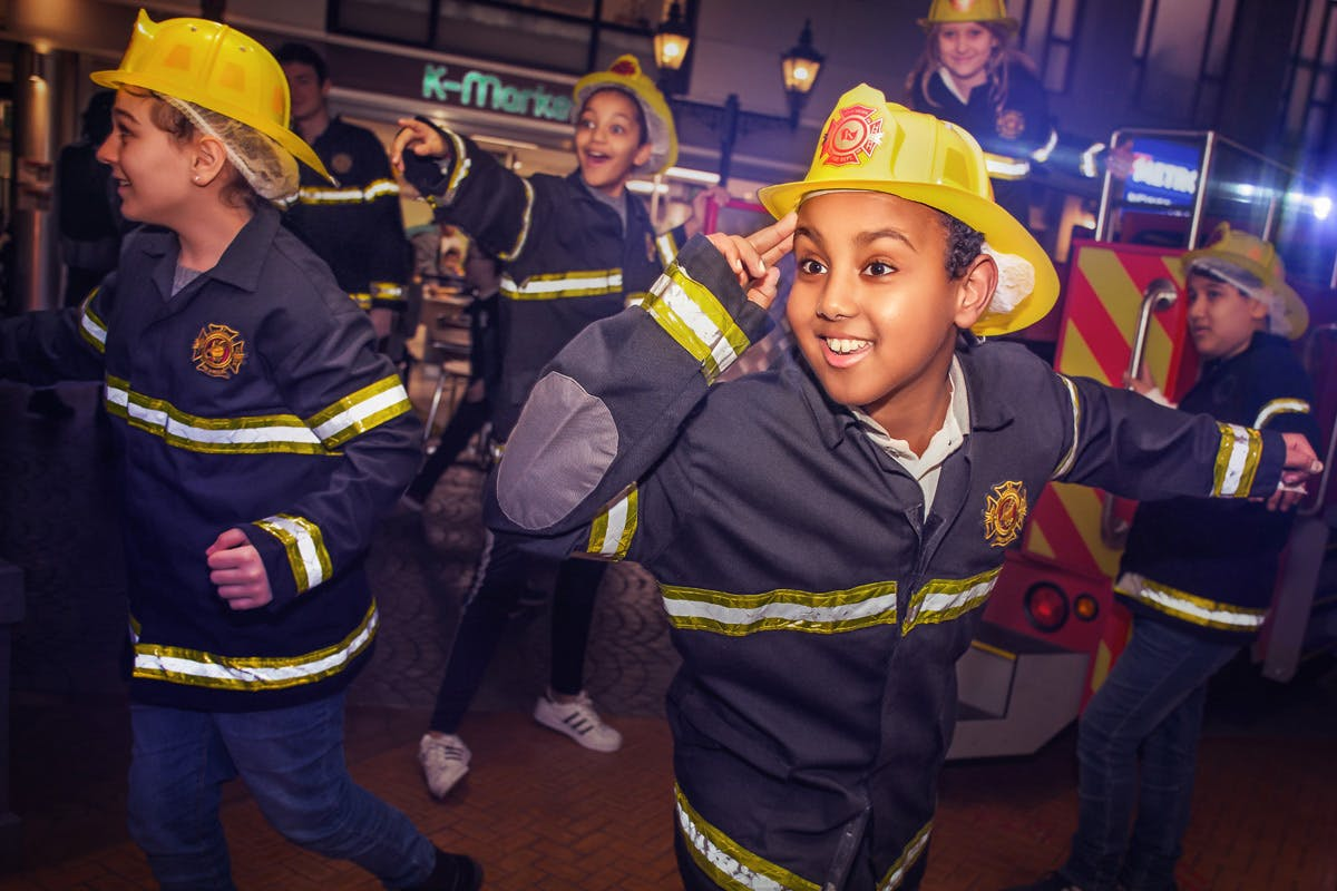 Entry to KidZania London for Two Adults and One Child