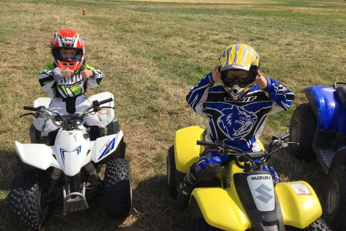 Exclusive Family Quad Bike Adventure for up to Five