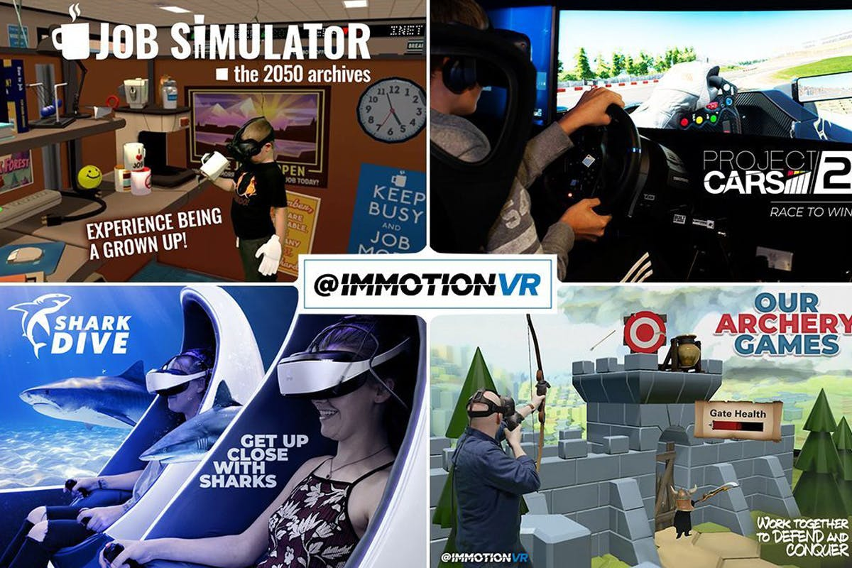 Exclusive Multi-Game Group Pass for up to Six at Immotion VR