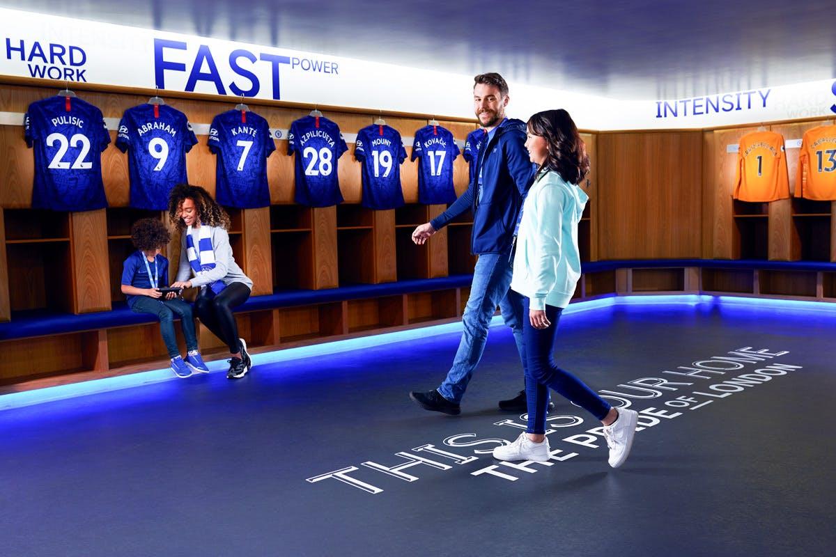 Family Chelsea Football Club Stadium Tour