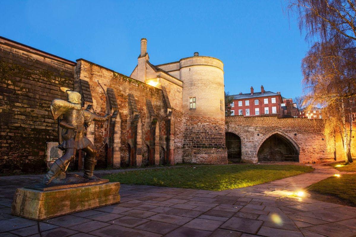 Family Visit to Nottingham Castle