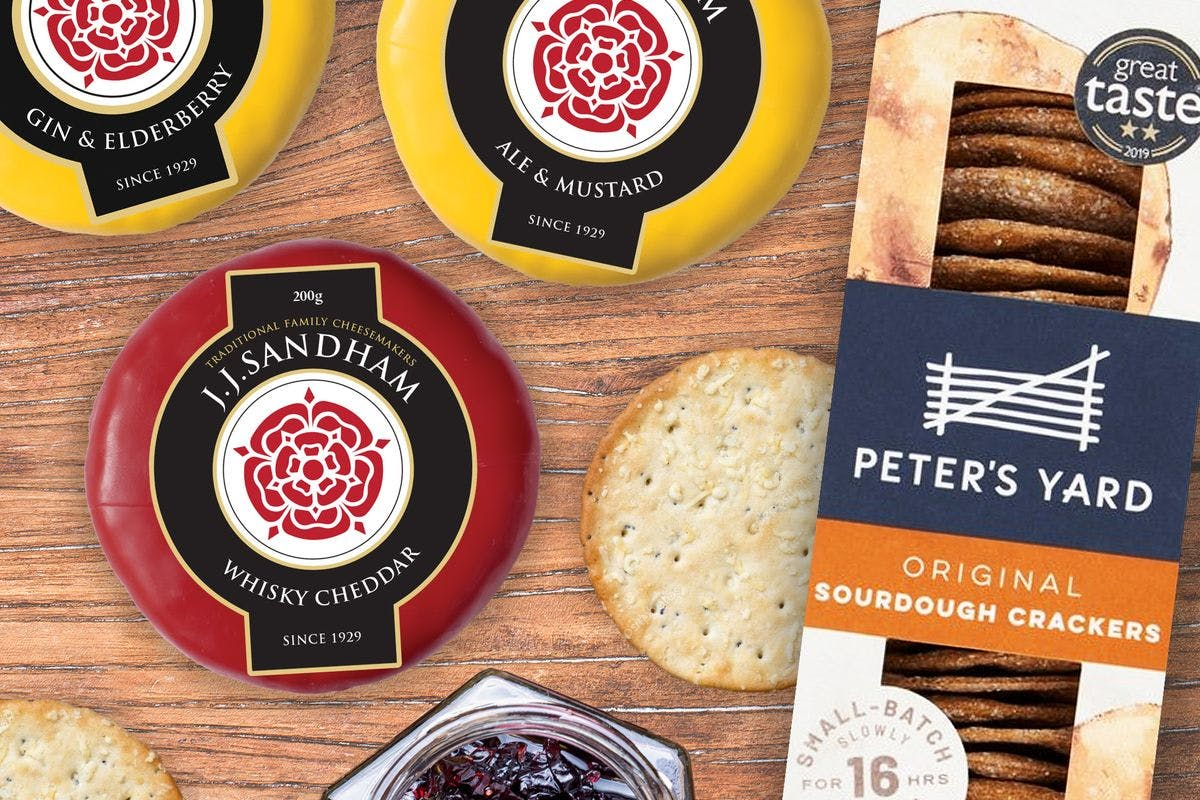 Father's Day Cheese Box from Letterbox Cheese