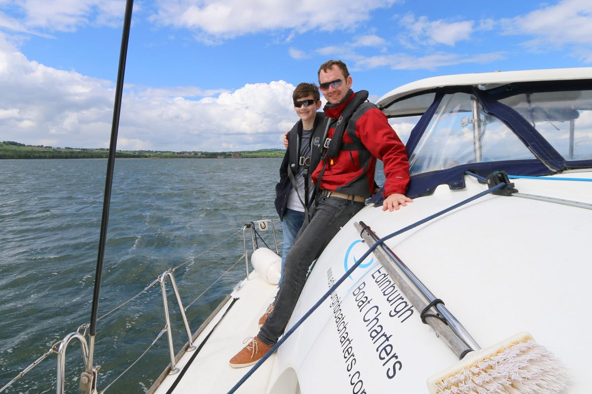 Firth of Forth Luxury Yacht Sailing Full Day for Two