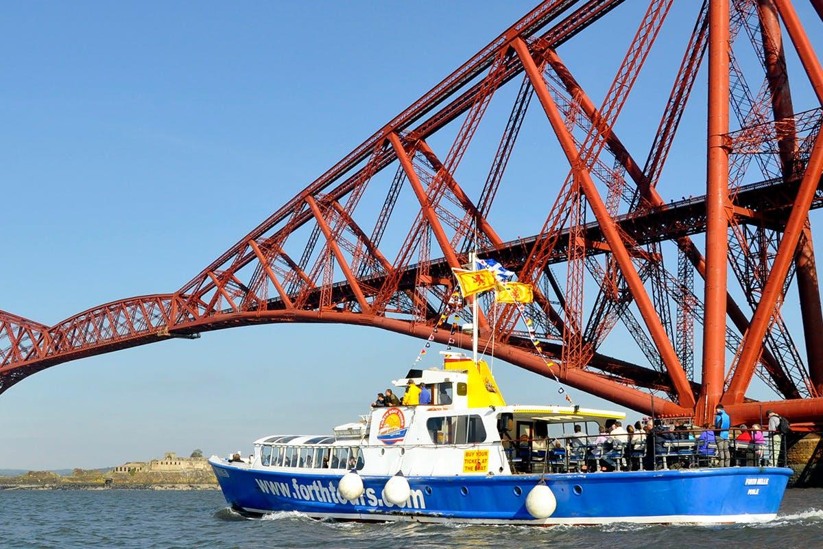 Three Bridges & Inchcolm Island Cruise for Two
