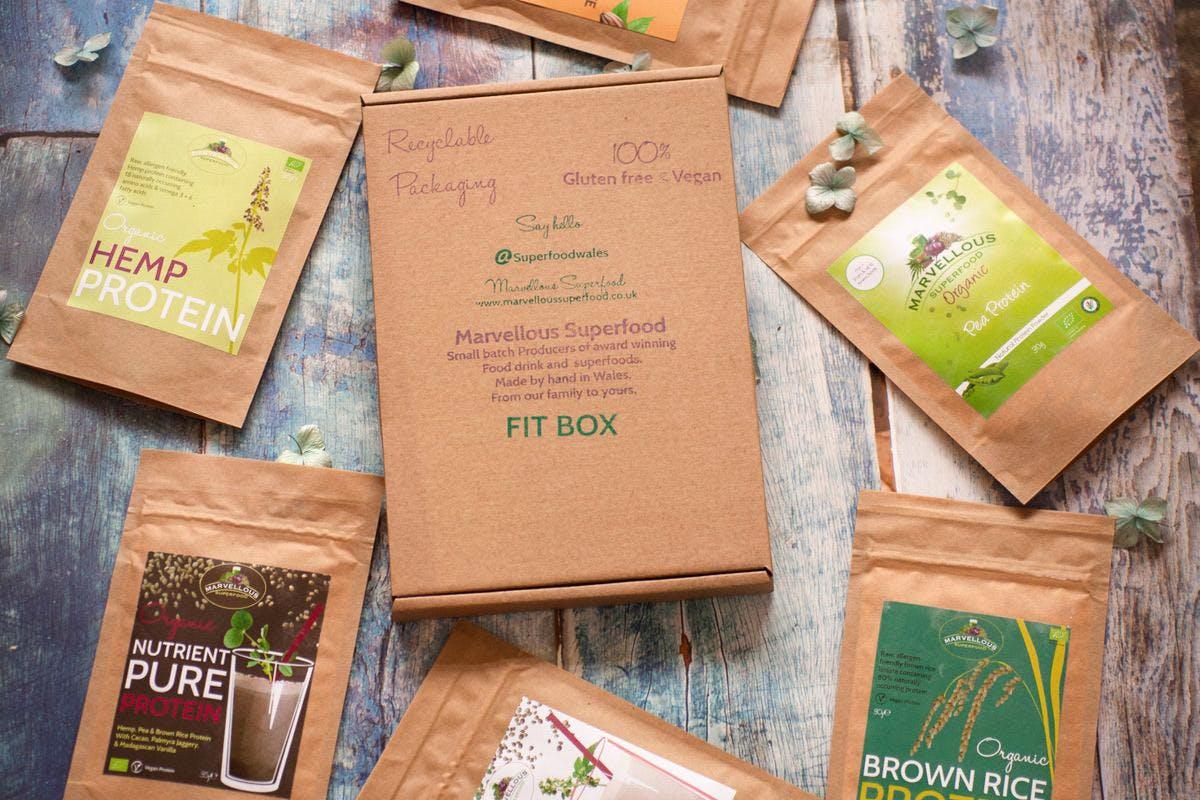 Fit Box: Protein Shake Gift Box