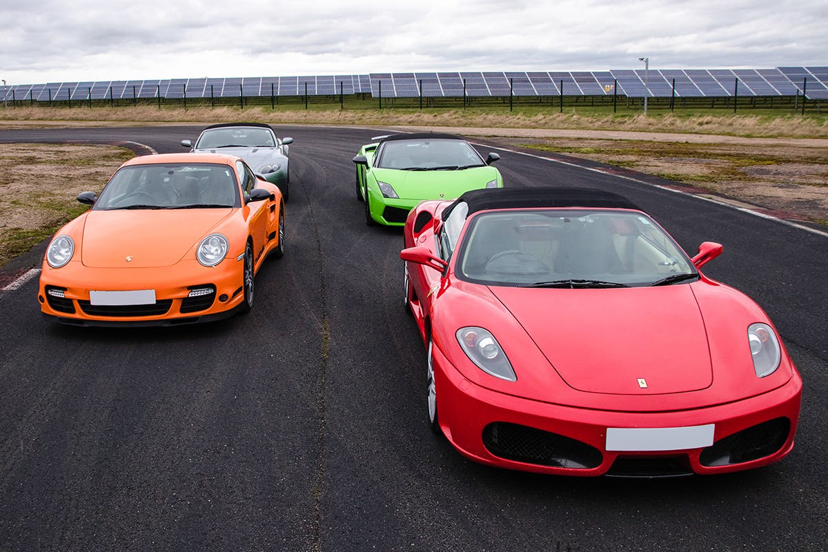 12 Mile Four Supercar Blast Ultimate Driving Experience Gift Voucher