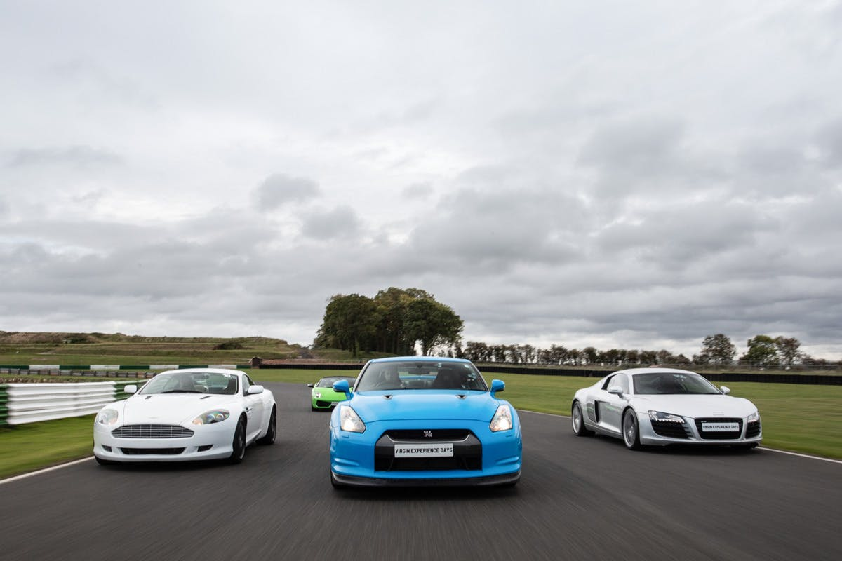 Four Supercar Blast plus High Speed Passenger Ride and Photo - Weekday