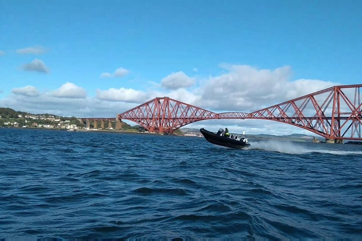 Full Day Learn to Drive a RIB Powerboat on the Forth