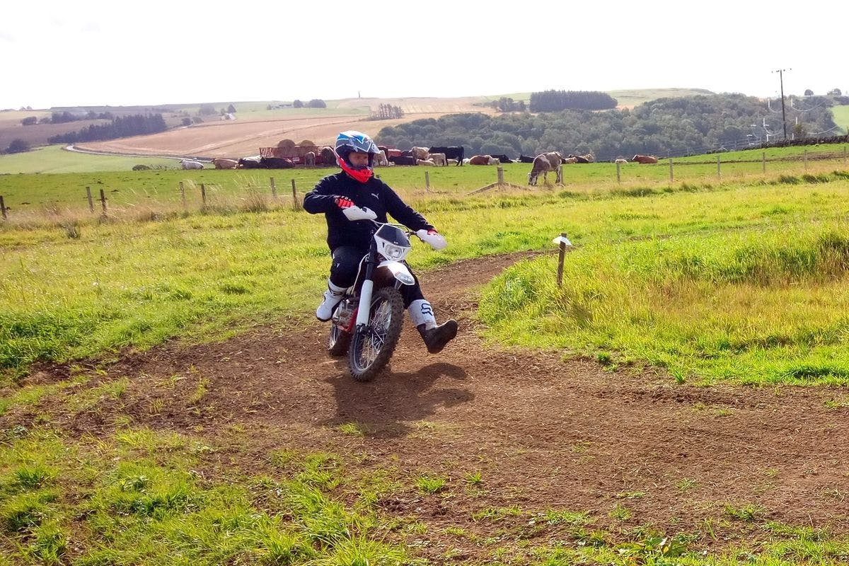 Off-Road Motorcycle Experience, Scotland