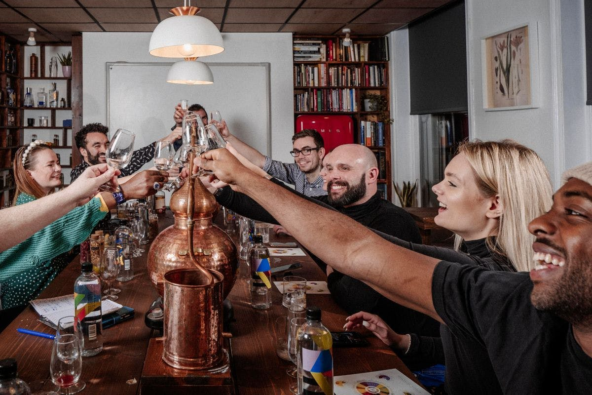 Gin and Tonic Tasting Experience and Sharing Platter for Two at Liquor Studio