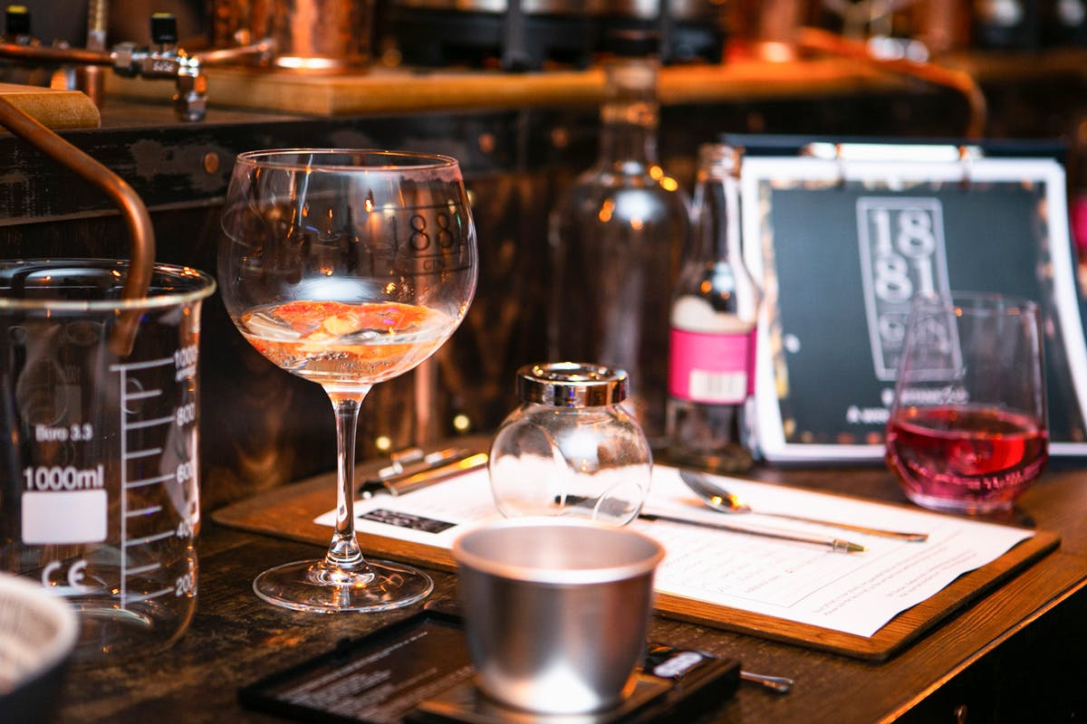 Gin Distiller for a Day with Tour, Tastings, Dinner and Overnight Stay for Two at 1881 Gin Distillery, Peebles Hydro Hotel