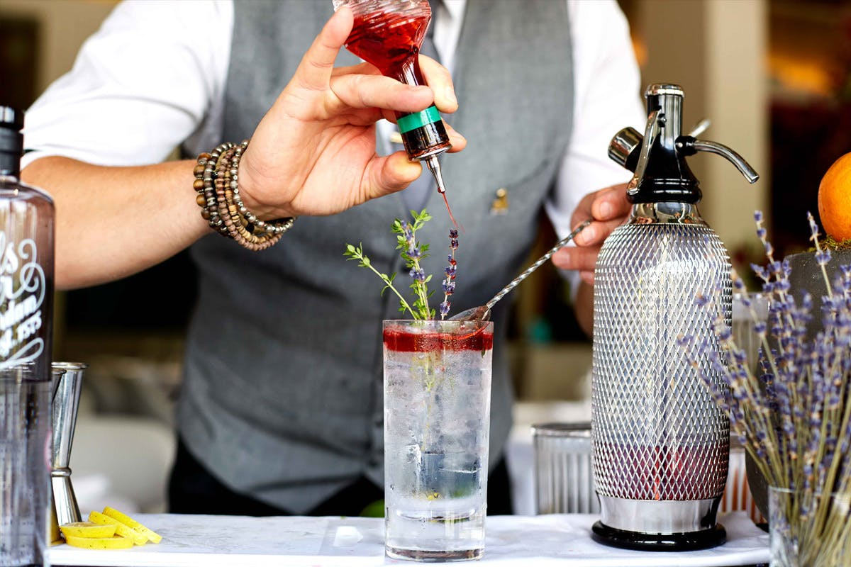 Gin Lover's Tasting Experience with Three Course Lunch for Two at Skylon