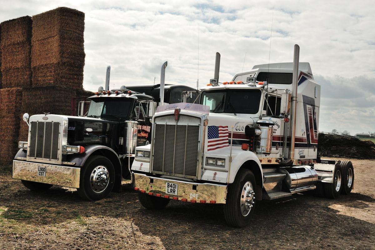 Goodwood American Truck Driving Blast