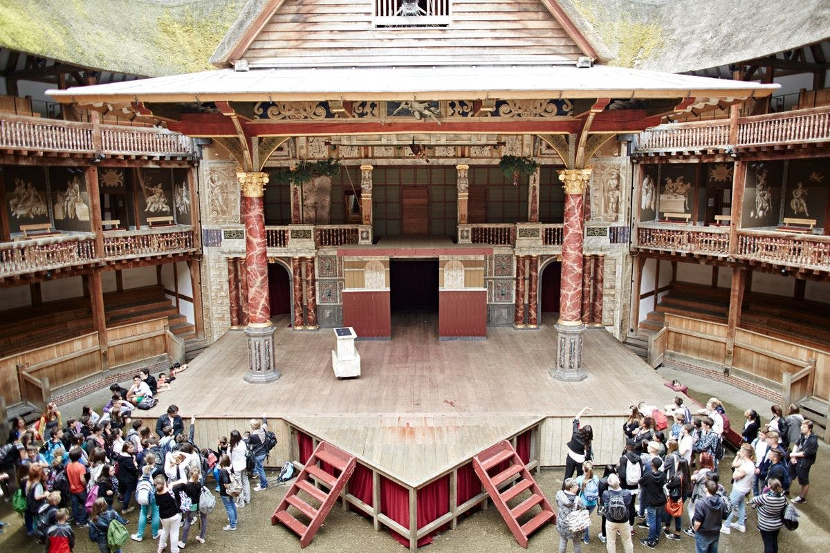 Guided Tour of Shakespeare's Globe and Theatrical Inspired Afternoon Tea at The Swan for Two