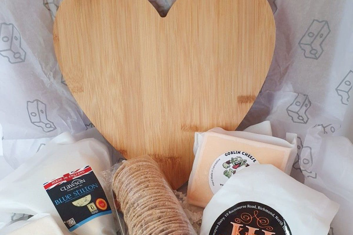 Cheese Board Selection Box from Letterbox Cheese