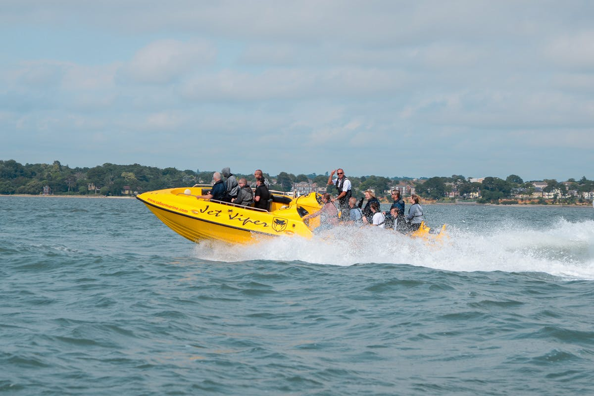 High Speed Jet Viper Powerboat Thrill for Two