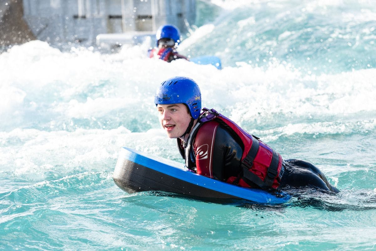 Hydrospeeding Experience at Lee Valley White Water Centre
