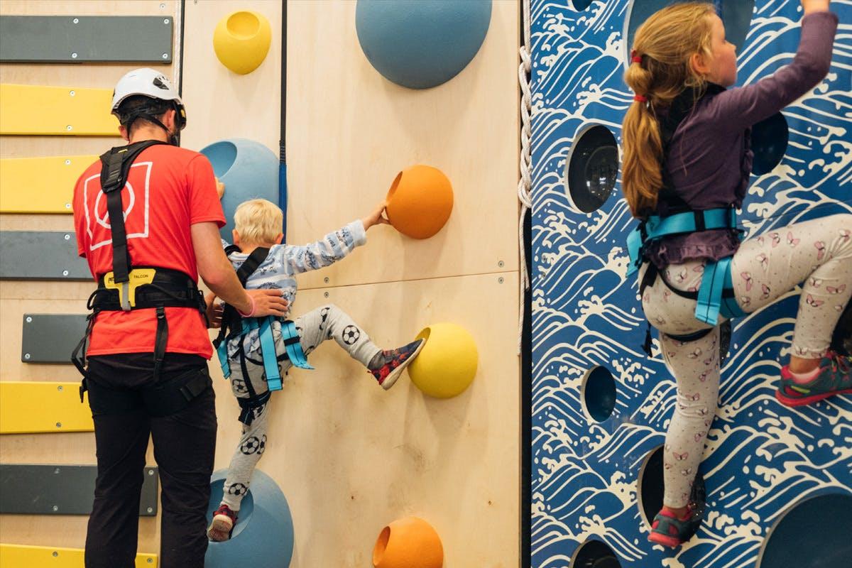 Indoor Adventure Climb for Two at Adventure Parc Snowdonia