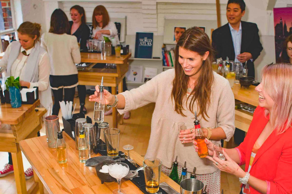Interactive Cocktail Making Masterclass for Two at TT Liquor