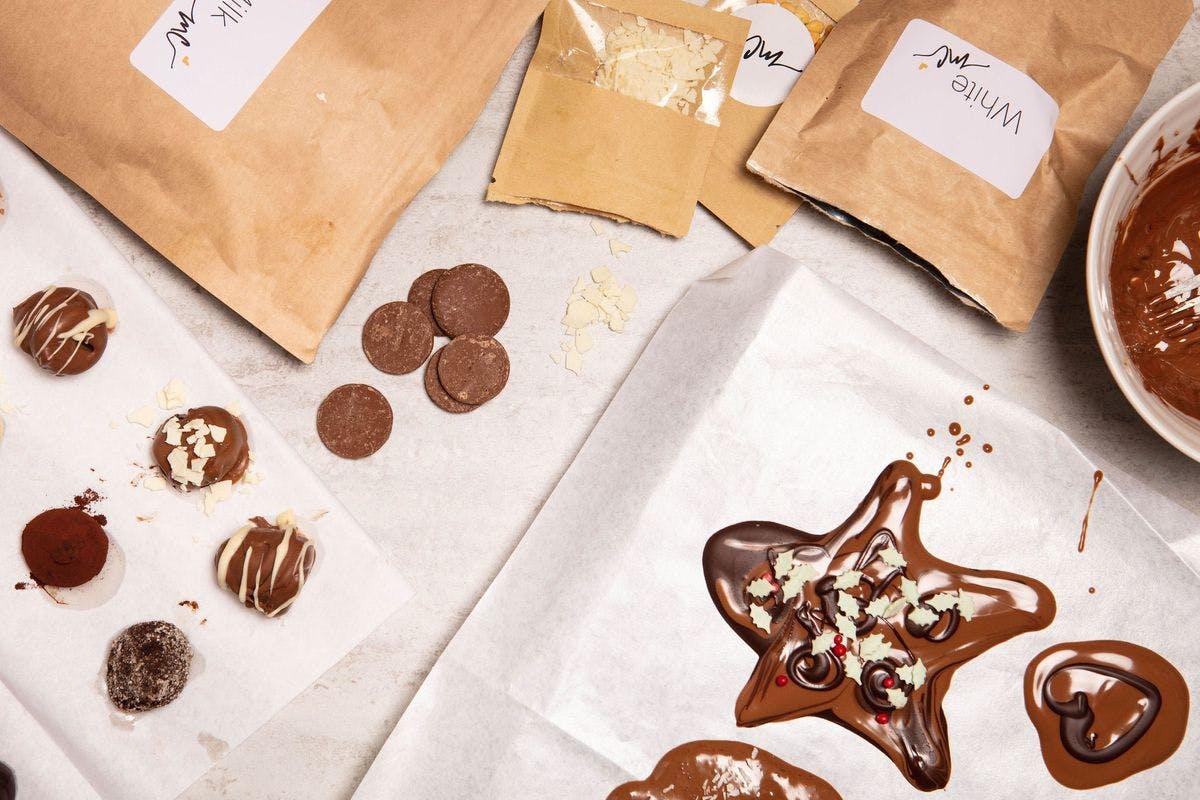 1 Hour Isolation Sensation Chocolate Truffle Kit And Online Workshop   Virgin Experience Days Voucher
