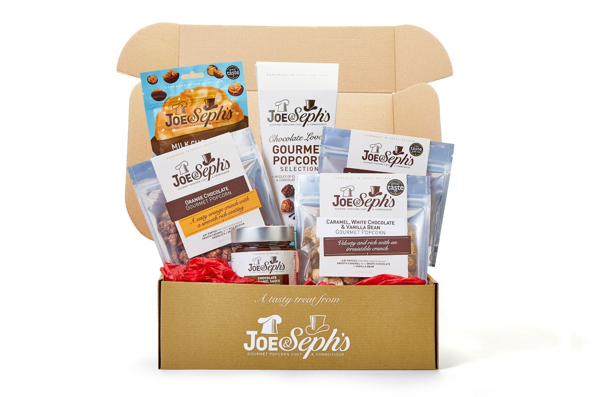 Joe & Seph's Popcorn Chocolate Lover's Night In Gift Box